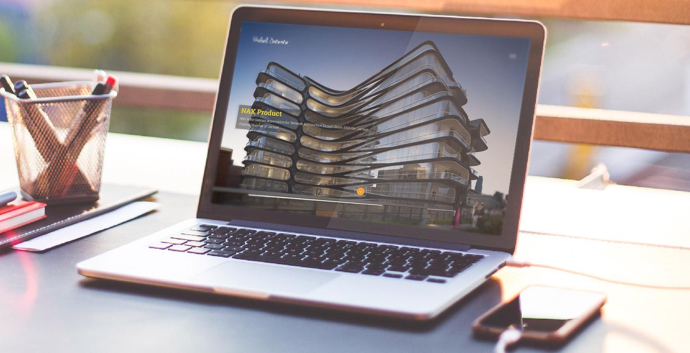 طراحی سایت وحید سروری